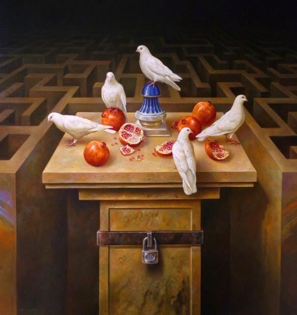 Фантастический реализм художника Альберто Панкорбо 22