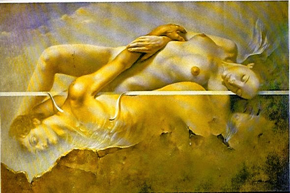 Фантастический реализм художника Альберто Панкорбо 23