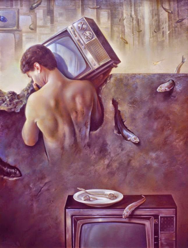 Фантастический реализм художника Альберто Панкорбо 27