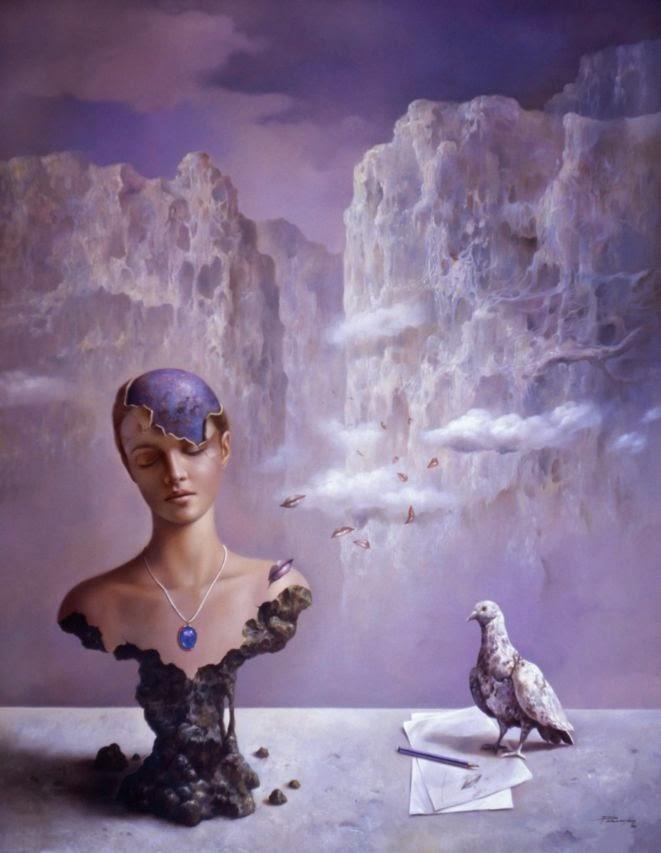 Фантастический реализм художника Альберто Панкорбо 28