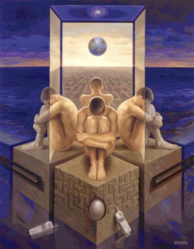 Фантастический реализм художника Альберто Панкорбо 29