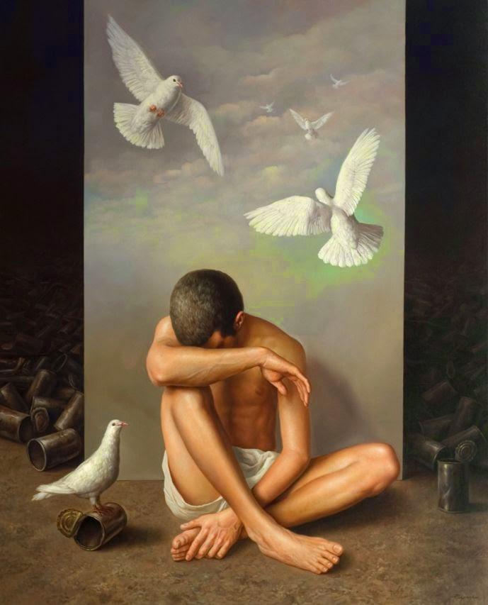 Фантастический реализм художника Альберто Панкорбо 30