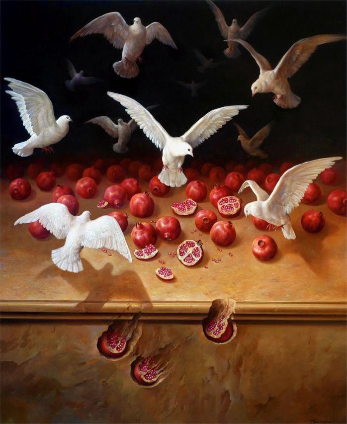 Фантастический реализм художника Альберто Панкорбо 32