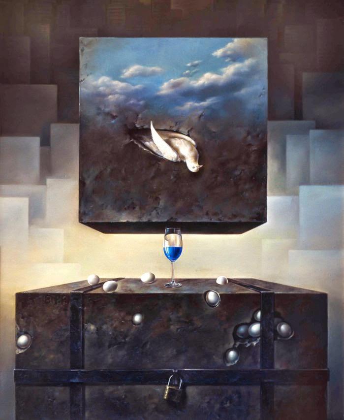 Фантастический реализм художника Альберто Панкорбо 33
