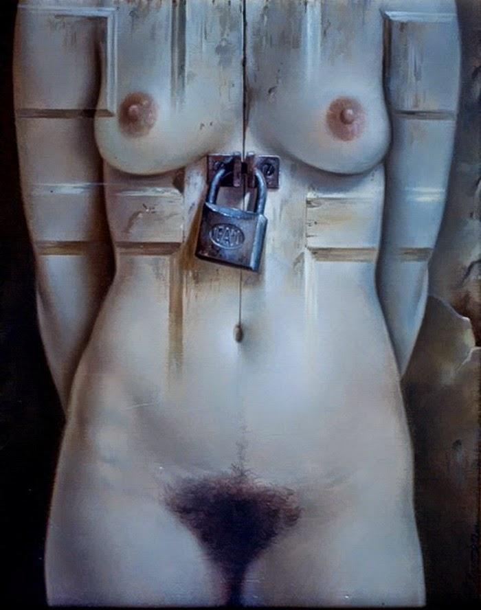 Фантастический реализм художника Альберто Панкорбо 35