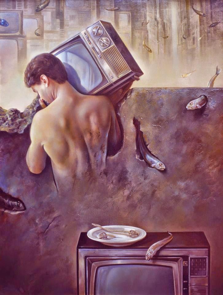 Фантастический реализм художника Альберто Панкорбо 39