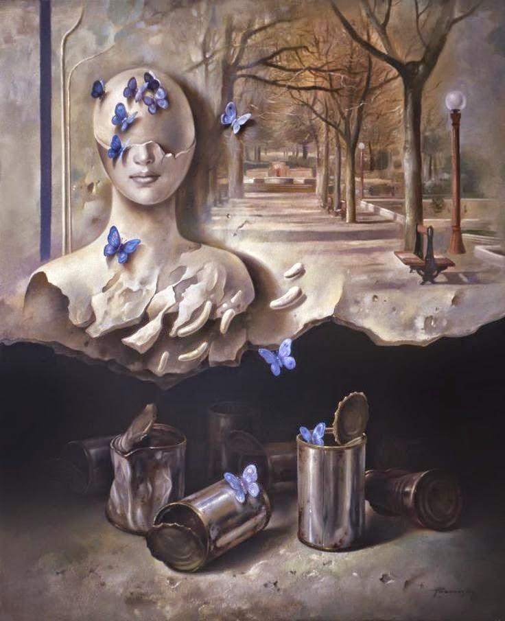 Фантастический реализм художника Альберто Панкорбо 40