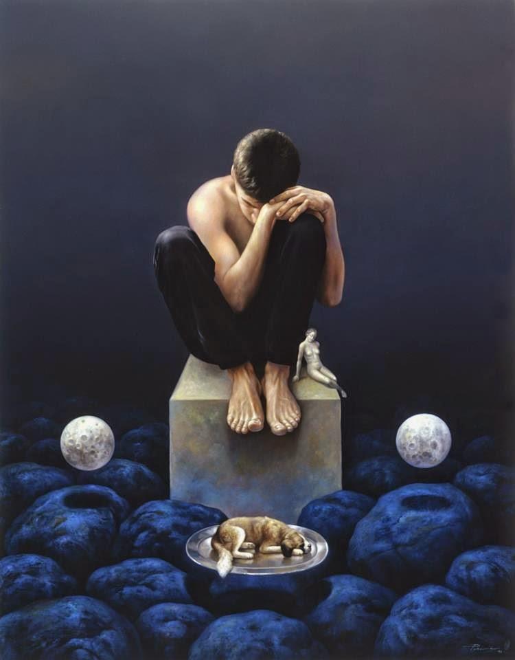 Фантастический реализм художника Альберто Панкорбо 42