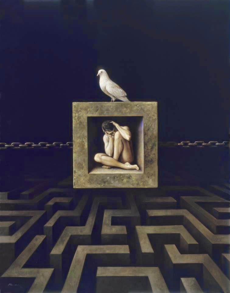Фантастический реализм художника Альберто Панкорбо 43