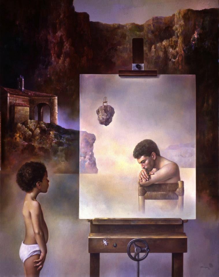 Фантастический реализм художника Альберто Панкорбо 45