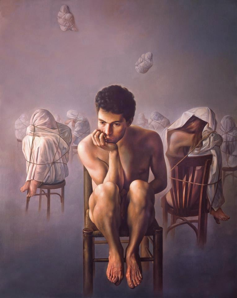 Фантастический реализм художника Альберто Панкорбо 47