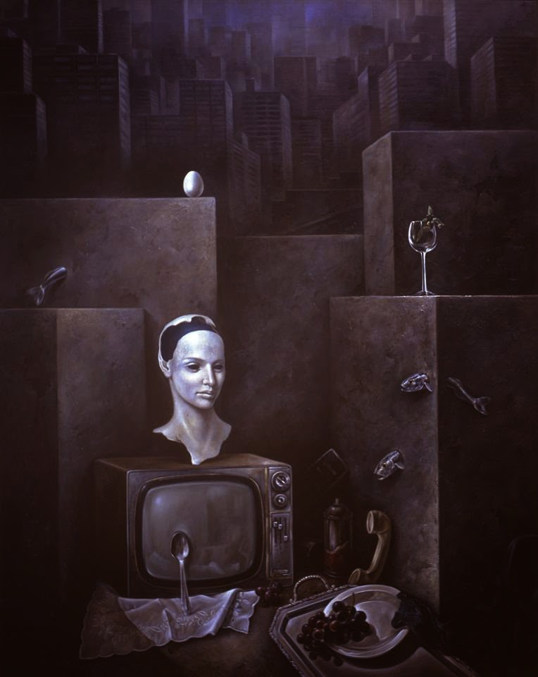 Фантастический реализм художника Альберто Панкорбо 48