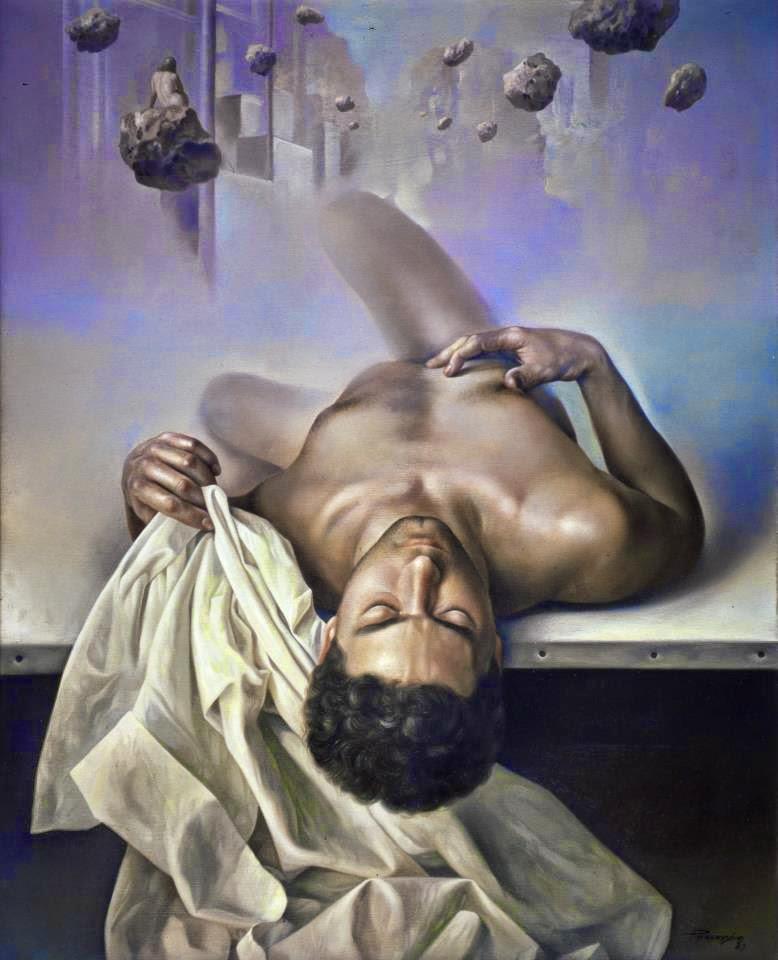 Фантастический реализм художника Альберто Панкорбо 50