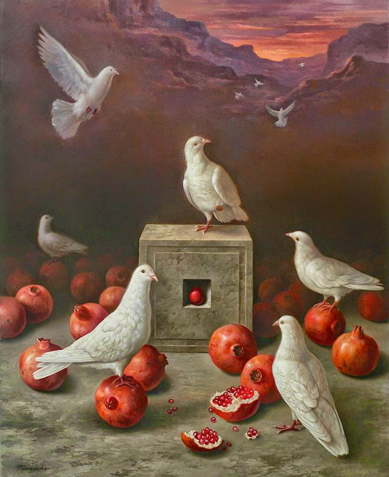Фантастический реализм художника Альберто Панкорбо 52