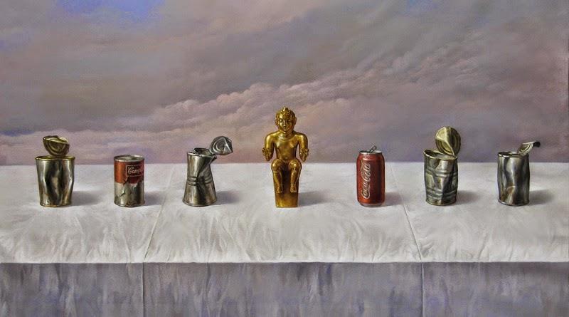 Фантастический реализм художника Альберто Панкорбо 54