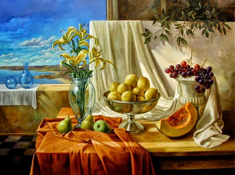 Фантастический реализм художника Альберто Панкорбо 56