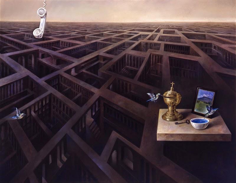 Фантастический реализм художника Альберто Панкорбо 57