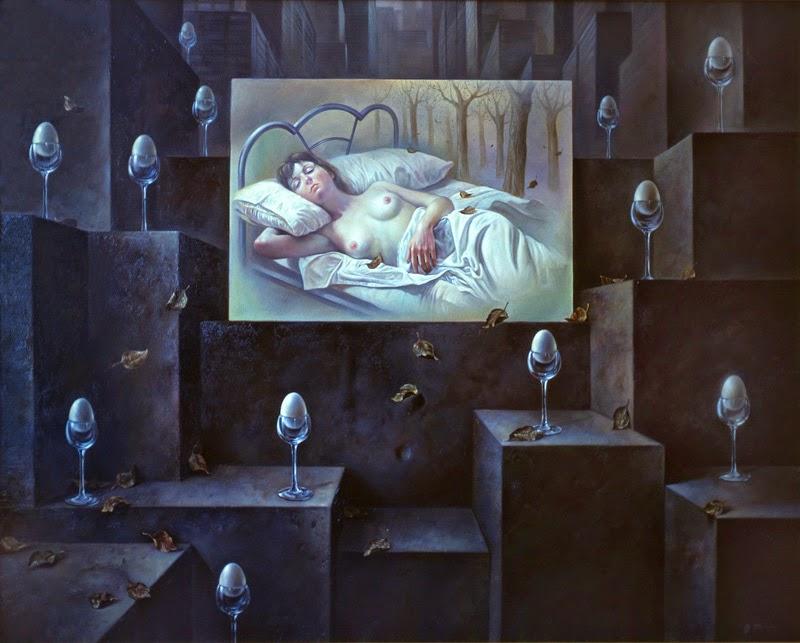 Фантастический реализм художника Альберто Панкорбо 58