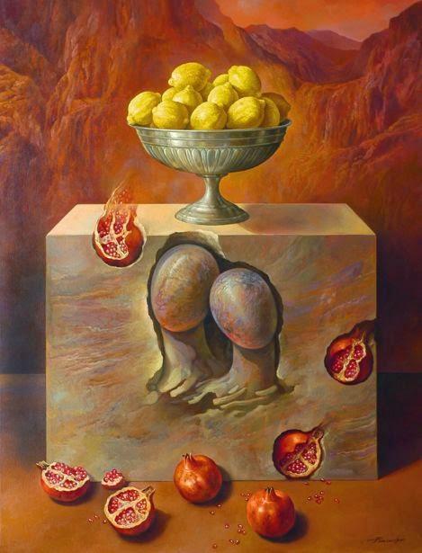 Фантастический реализм художника Альберто Панкорбо 6