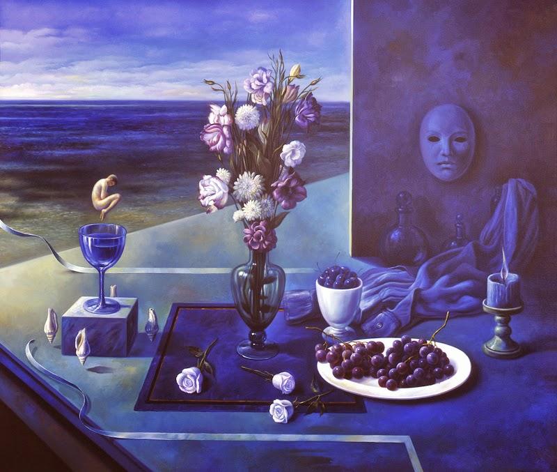 Фантастический реализм художника Альберто Панкорбо 60