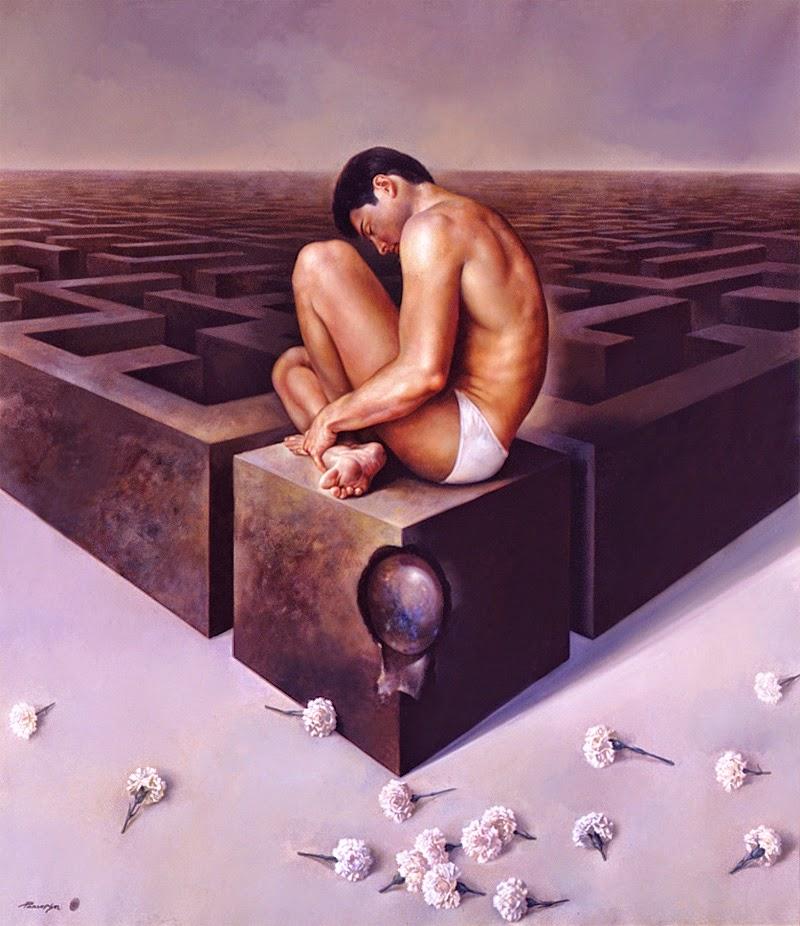 Фантастический реализм художника Альберто Панкорбо 62
