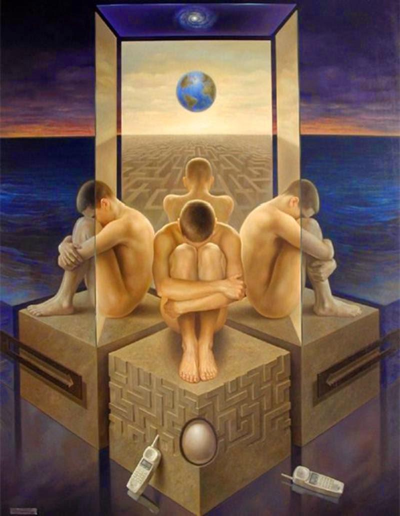 Фантастический реализм художника Альберто Панкорбо 63