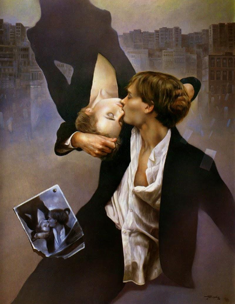 Фантастический реализм художника Альберто Панкорбо 64