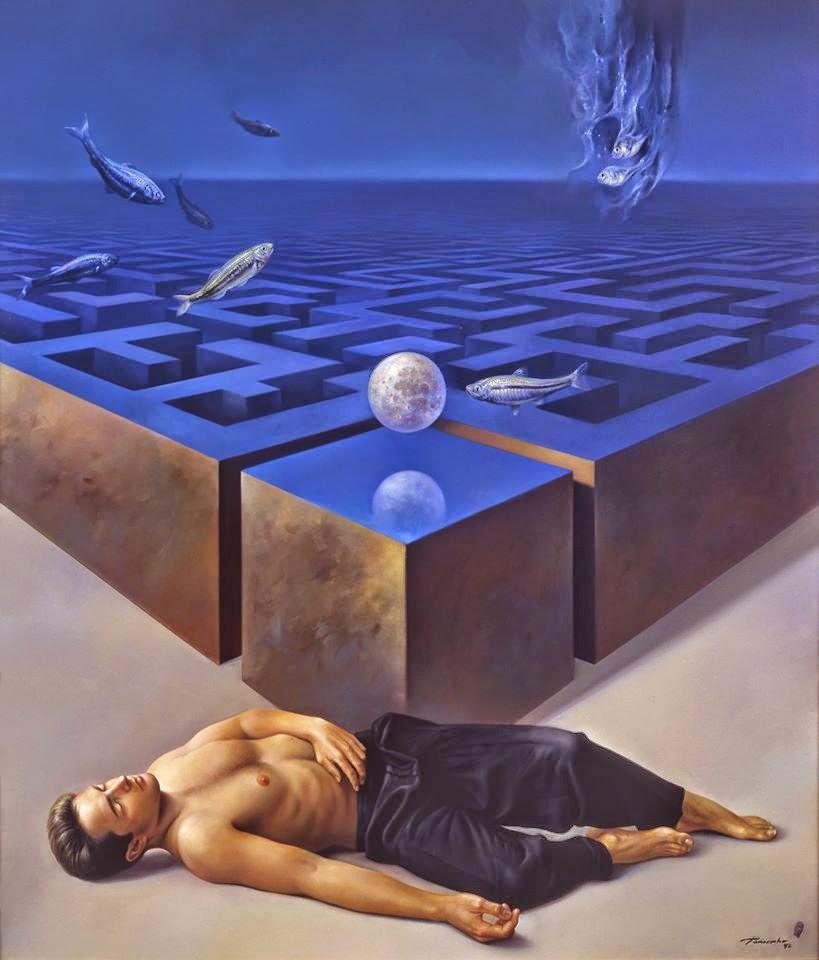 Фантастический реализм художника Альберто Панкорбо 65