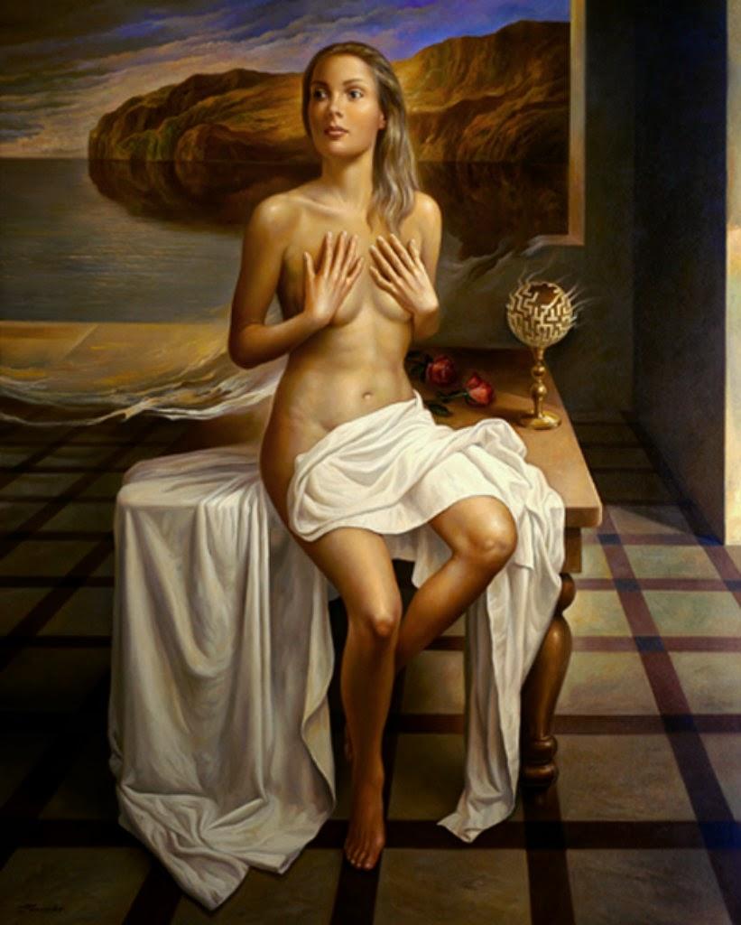 Фантастический реализм художника Альберто Панкорбо 66