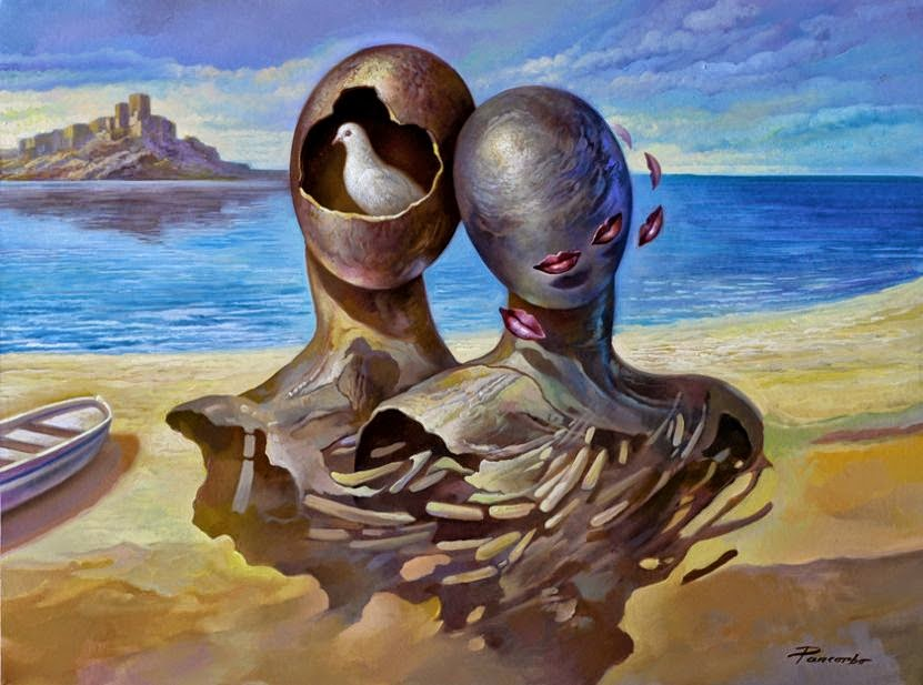 Фантастический реализм художника Альберто Панкорбо 68