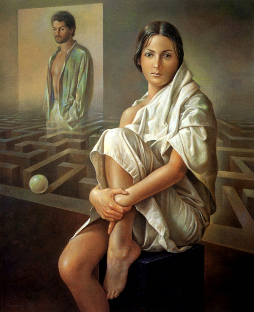 Фантастический реализм художника Альберто Панкорбо 69