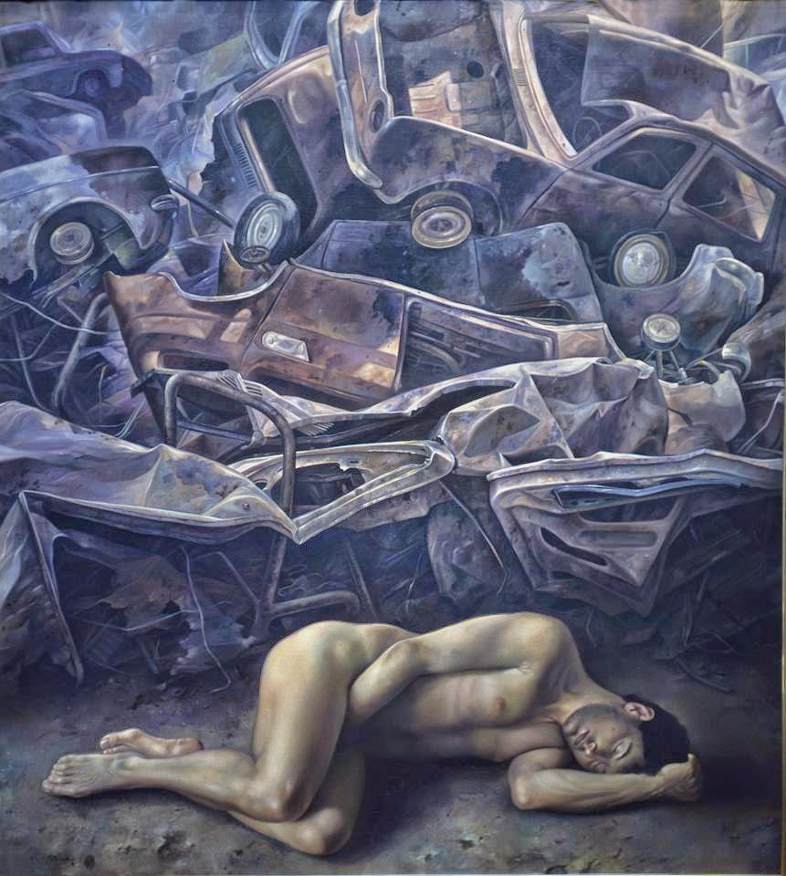 Фантастический реализм художника Альберто Панкорбо 72