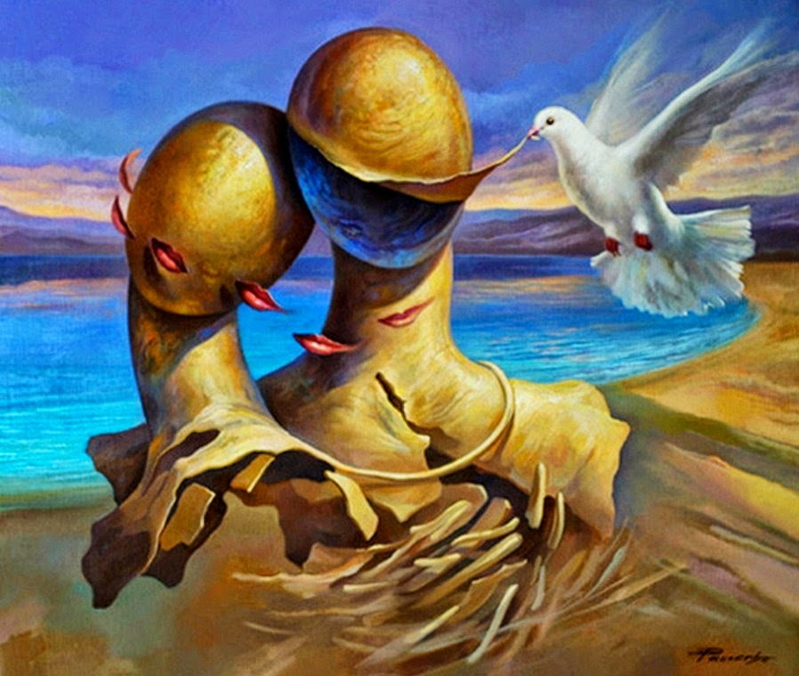 Фантастический реализм художника Альберто Панкорбо 73