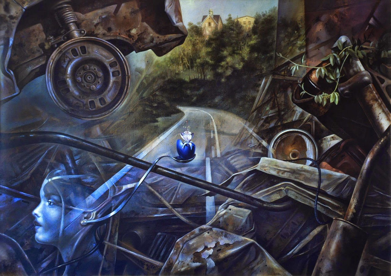 Фантастический реализм художника Альберто Панкорбо 74
