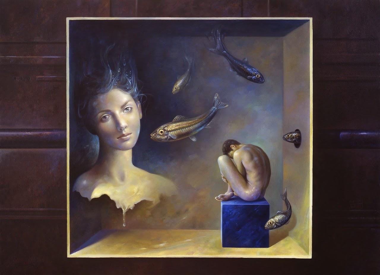 Фантастический реализм художника Альберто Панкорбо 75