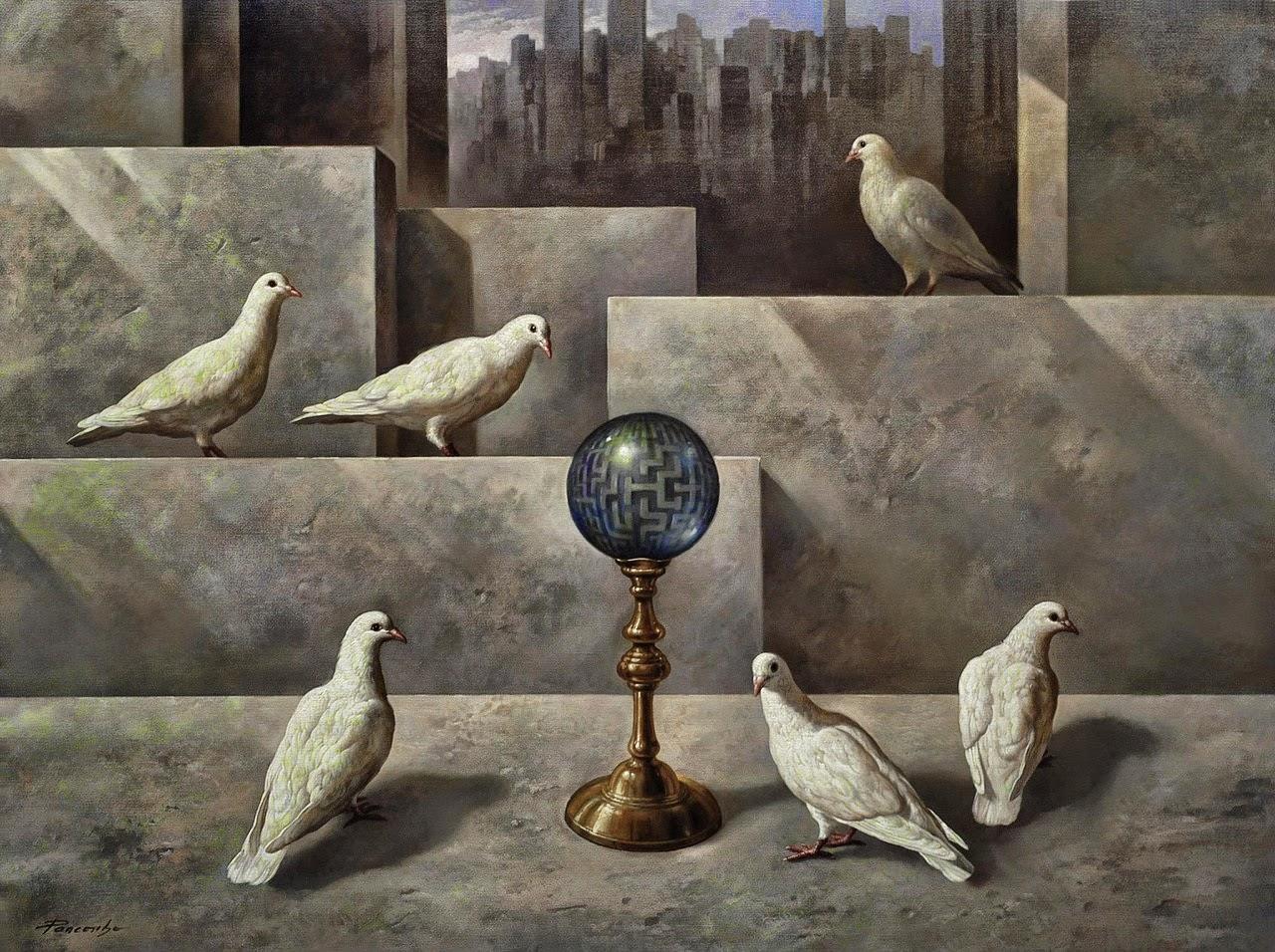 Фантастический реализм художника Альберто Панкорбо 76