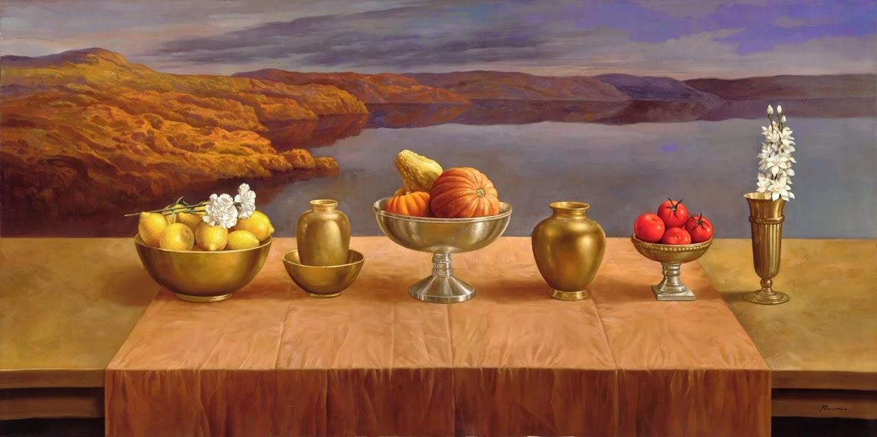 Фантастический реализм художника Альберто Панкорбо 77