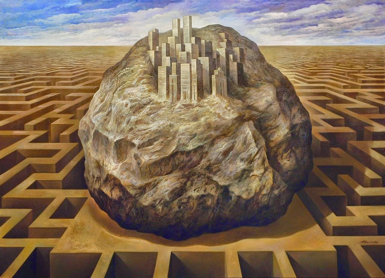Фантастический реализм художника Альберто Панкорбо 79