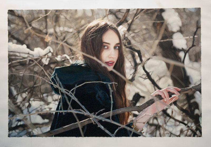 Фотореалистичные картины женщин от Yigal Ozeri  12