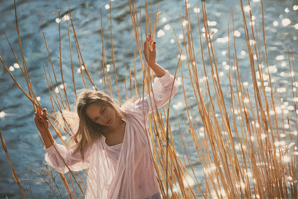 Фотореалистичные картины женщин от Yigal Ozeri  14
