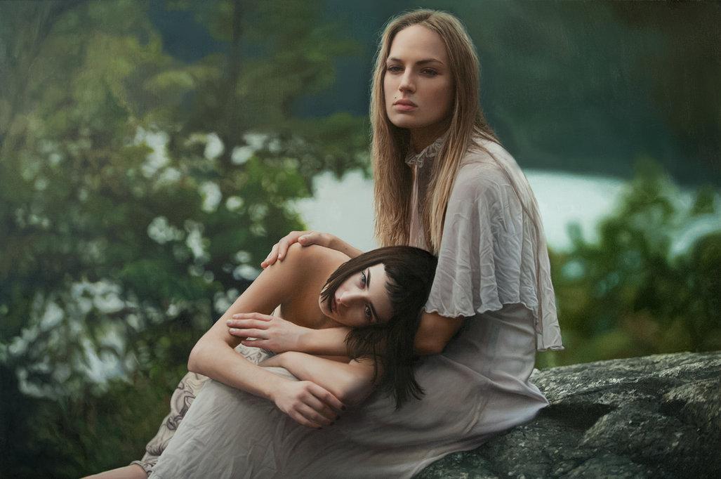 Фотореалистичные картины женщин от Yigal Ozeri  16