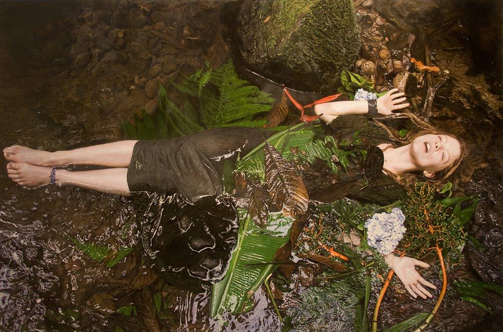 Фотореалистичные картины женщин от Yigal Ozeri  2