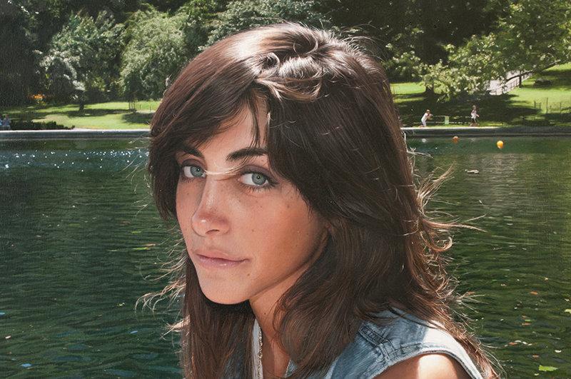 Фотореалистичные картины женщин от Yigal Ozeri  3