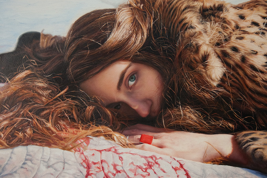 Фотореалистичные картины женщин от Yigal Ozeri  6