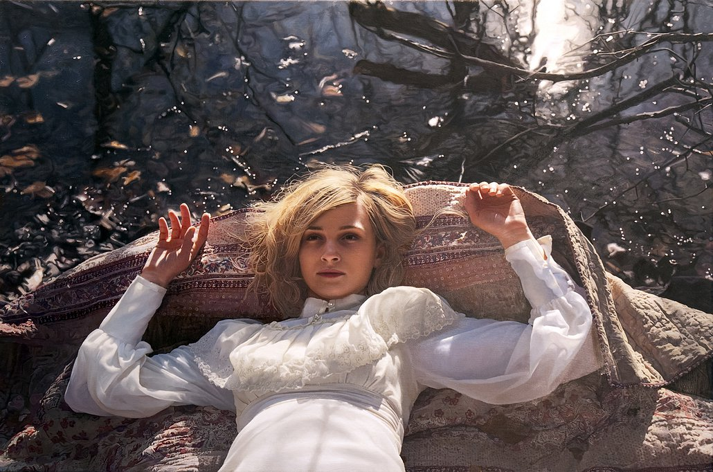 Фотореалистичные картины женщин от Yigal Ozeri  8