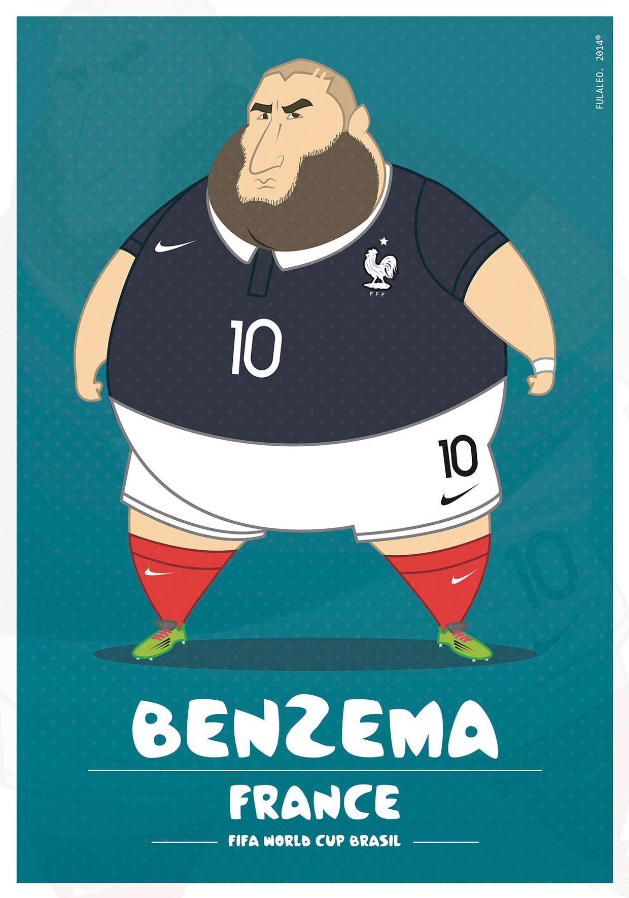 Толстые футболисты чемпионата мира в Бразилии 1