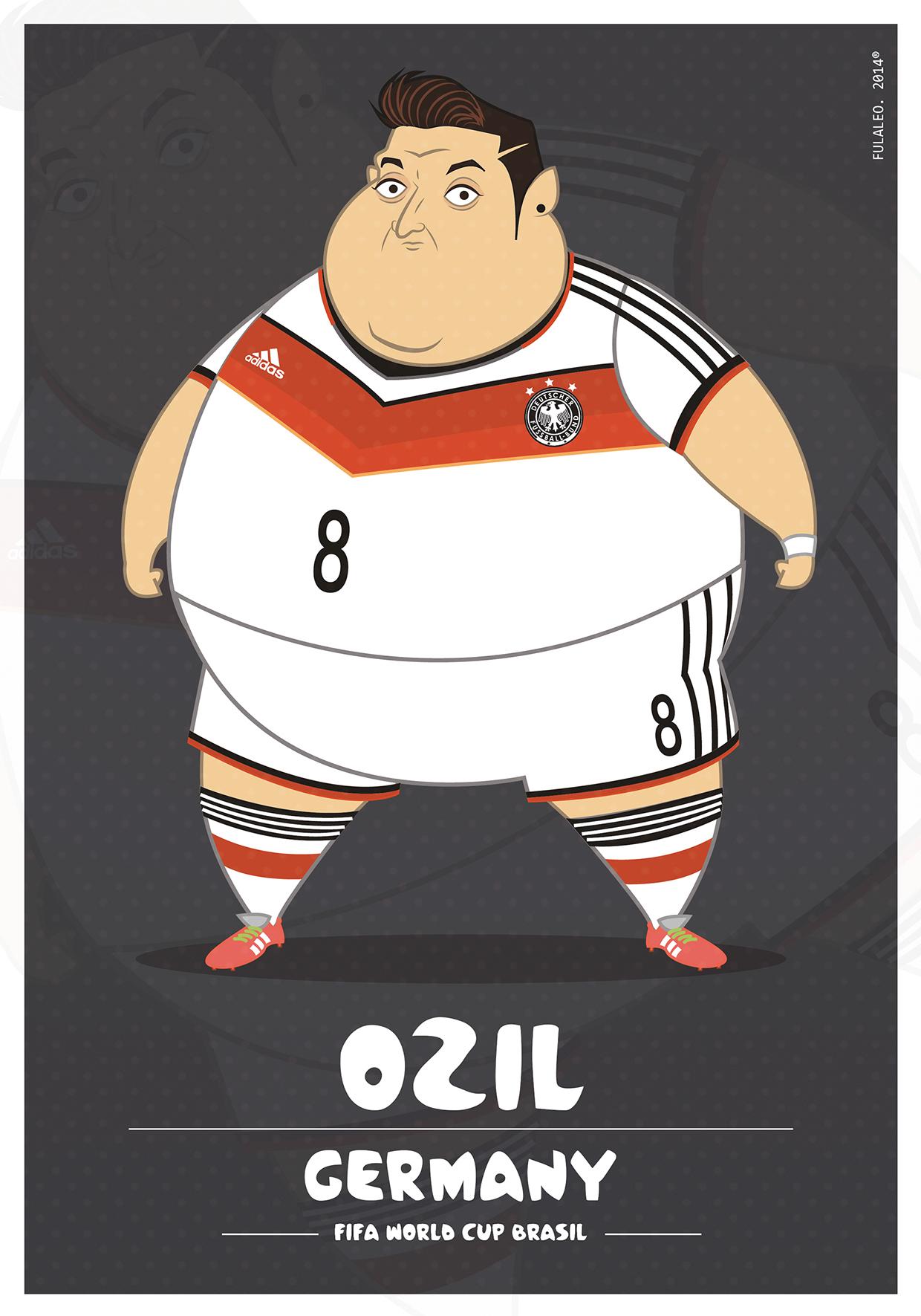 Толстые футболисты чемпионата мира в Бразилии 10