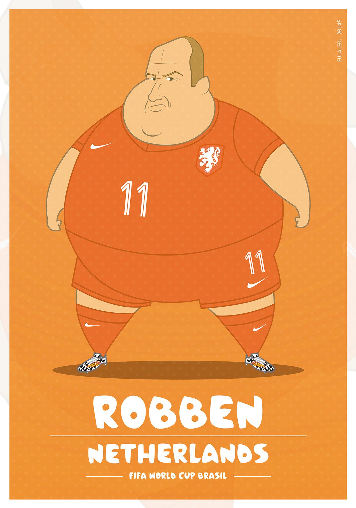 Толстые футболисты чемпионата мира в Бразилии 12
