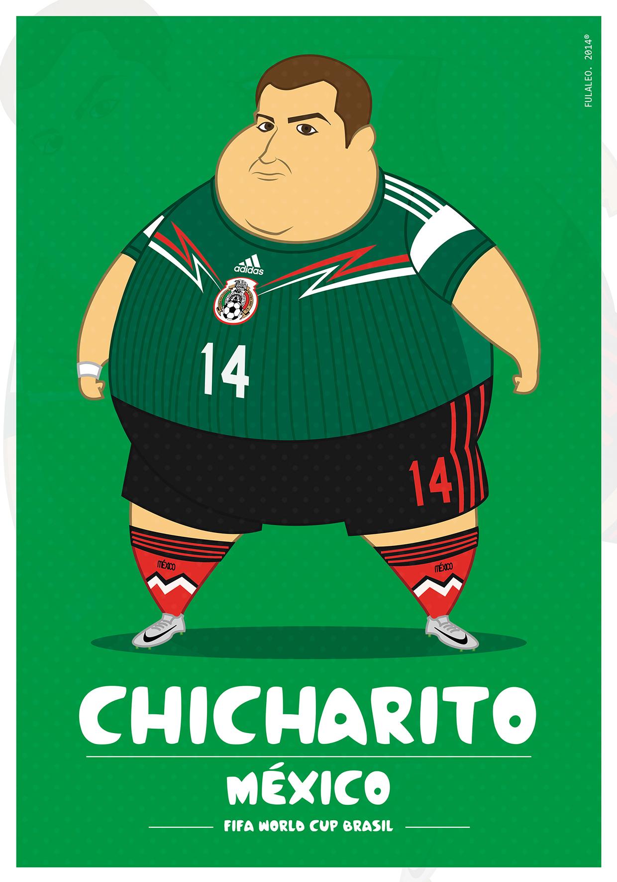 Толстые футболисты чемпионата мира в Бразилии 3