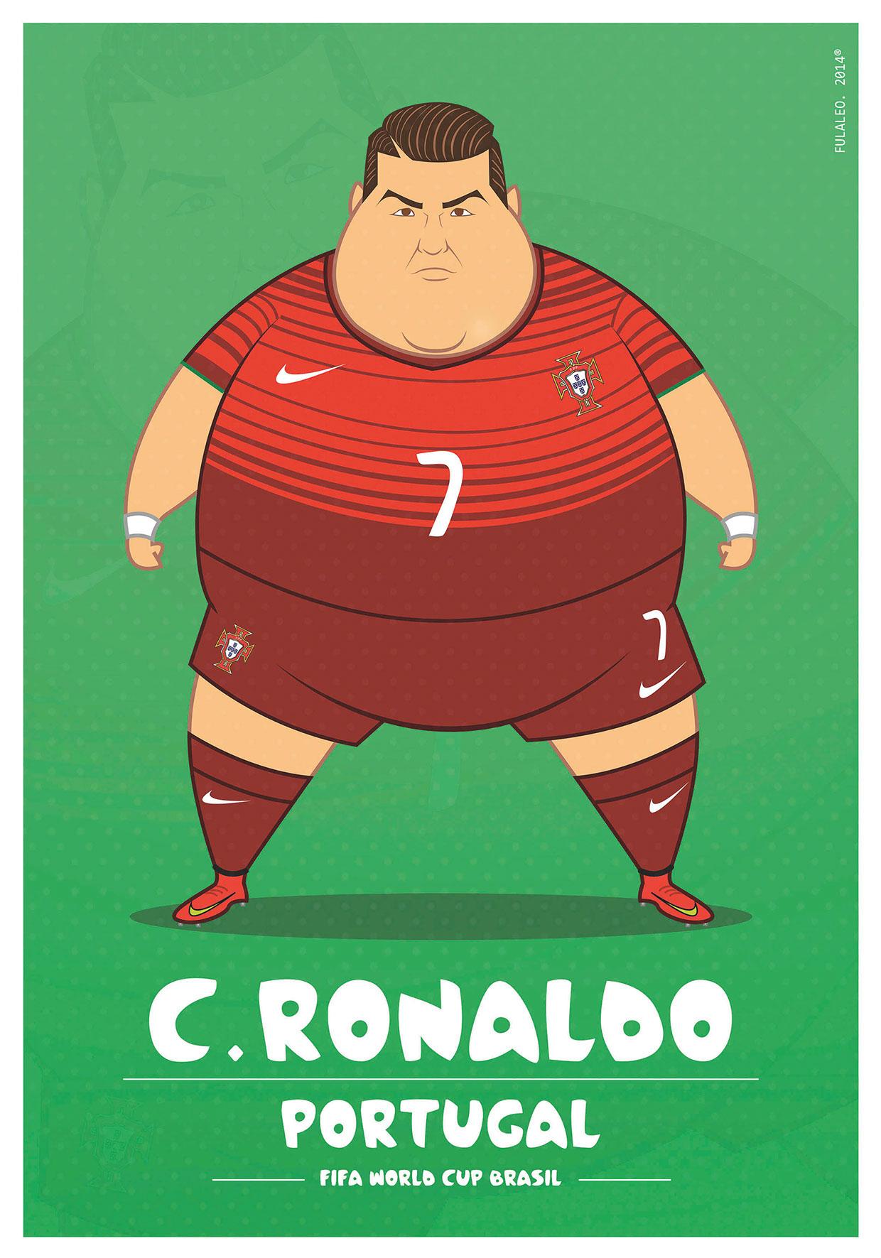 Толстые футболисты чемпионата мира в Бразилии 4